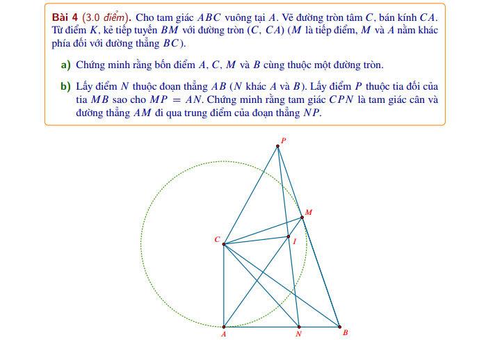 Đề và đáp án Toán thi vào lớp 10 ở Hà Nội