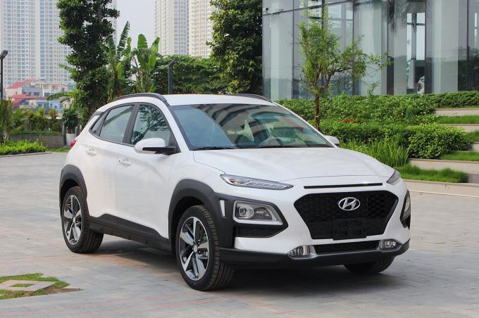 Hyundai Kona tại đại lý ở Hà Nội. Ảnh: Bình Đỗ