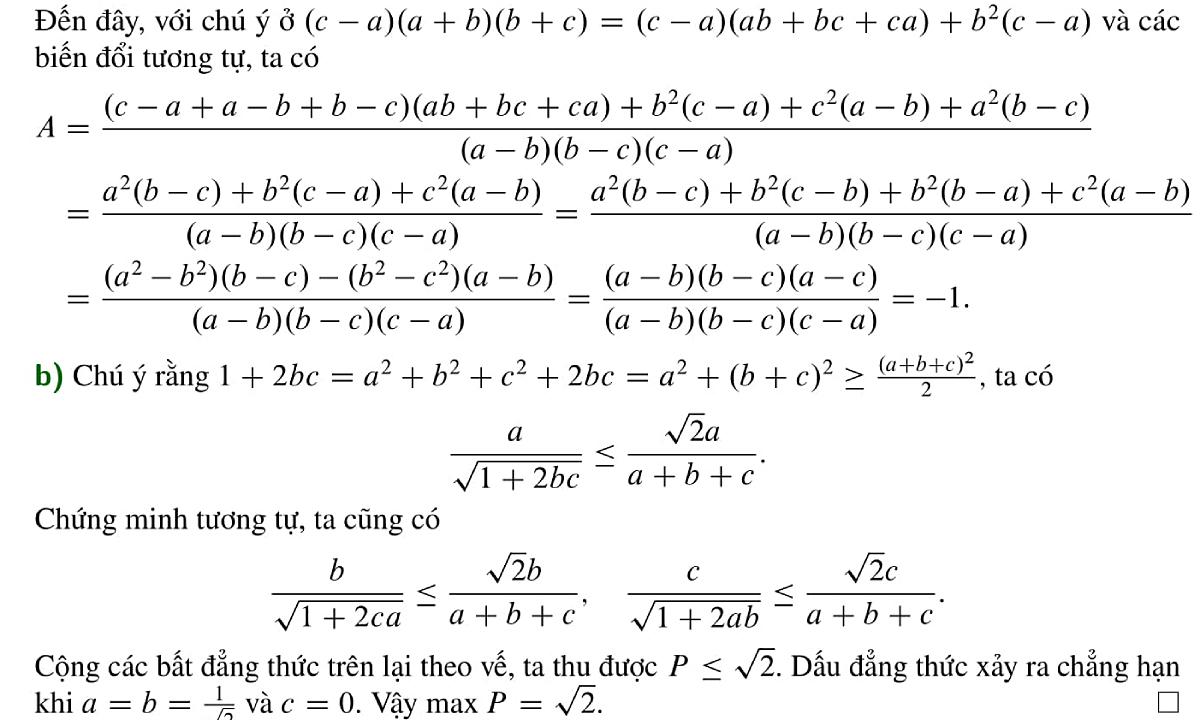Lời giải đề thi Toán vào lớp 10 chuyên Tin ở Hà Nội