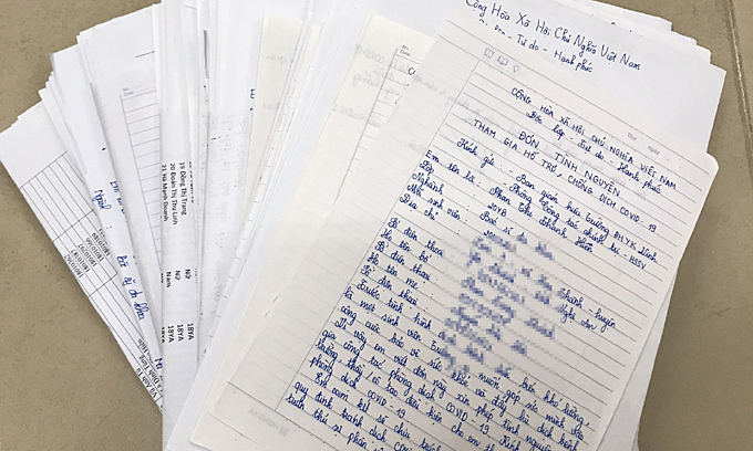 Hơn 1.000 sinh viên Y khoa Vinh tình nguyện chống dịch