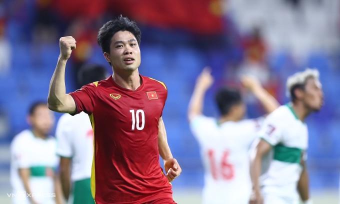 Việt Nam có thể cơ hội thành đội Đông Nam Á đầu tiên thắng một trận ở vòng loại cuối World Cup. Ảnh: Lâm Thoả