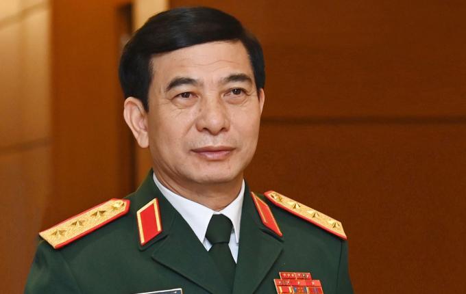 Thượng tướng Phan Văn Giang, Bộ trưởng Quốc phòng Việt Nam. Ảnh: Giang Huy
