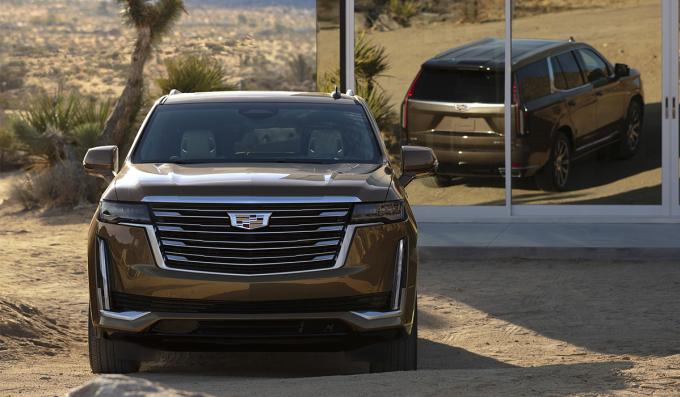Chiếc SVU cỡ lớn Cadillac Escalade đời 2021 nằm trong đợt triệu hồi. Ảnh: Cadillac