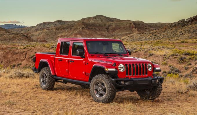 Bán tải Jeep Gladiator. Ảnh: Jeep