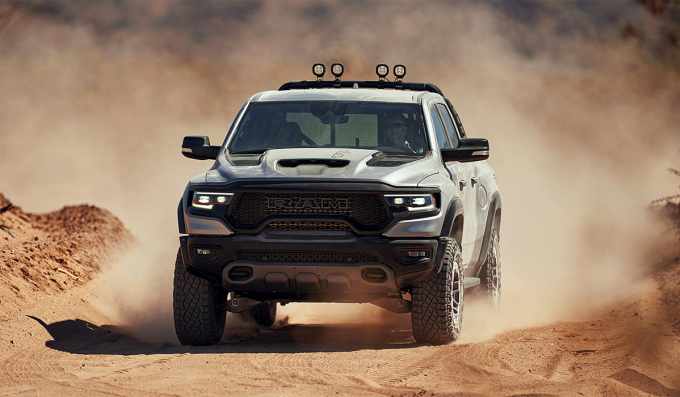 Ram 1500 TRX 2021 bản Launch Edition. Ảnh: Dodge