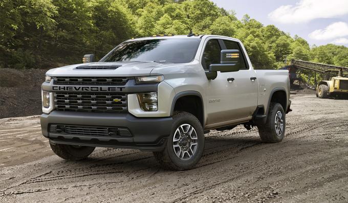Bán tải cỡ lớn Chevrolet Silverado HD 2021. Ảnh: Chevrolet