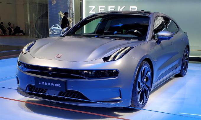001 - mẫu xe điện đắt khách từ thương hiệu mới thành lập trong năm nay. Ảnh: Wikipedia