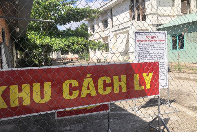 Trung tâm y tế huyện An Phú, tỉnh An Giang, nơi đang điều trị cho bệnh nhân 12642. Ảnh: Ngọc Tài