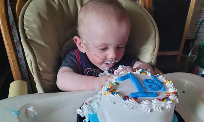 Richard đón sinh nhật tại nhà riêng ở hạt St Croix, bang Wisconsin hôm 5/6. Ảnh: Guinness.