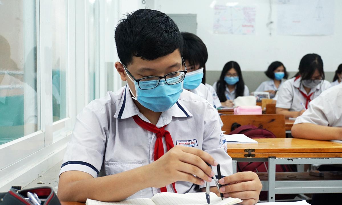 TP HCM vẫn thi tuyển lớp 10