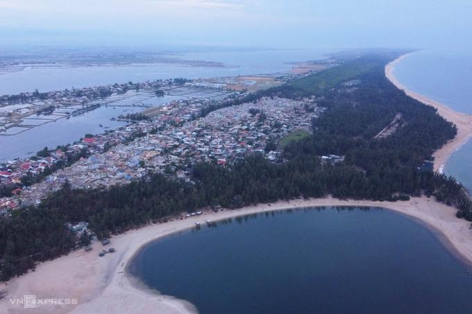 Xã biển Hải Dương sát nhập vào thành phố Huế sau hơn 30 năm chia tách. Ảnh: Võ Thạnh