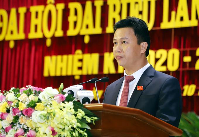 Ông Ông Đặng Quốc Khánh - Bí thư tỉnh Ủy Hà Giang. Ảnh: Báo Hà Giang.