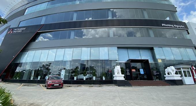 Showroom Mitsubihi ở quận Bình Tân tạm ngưng hoạt động.