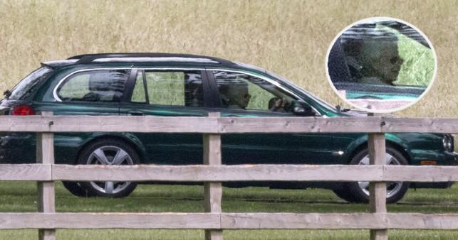 Nữ hoàng Anh tự lái xe đi gặp Harry