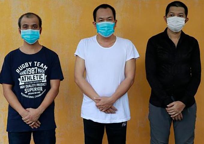 Ba tài xế bị khởi tố về hành vi