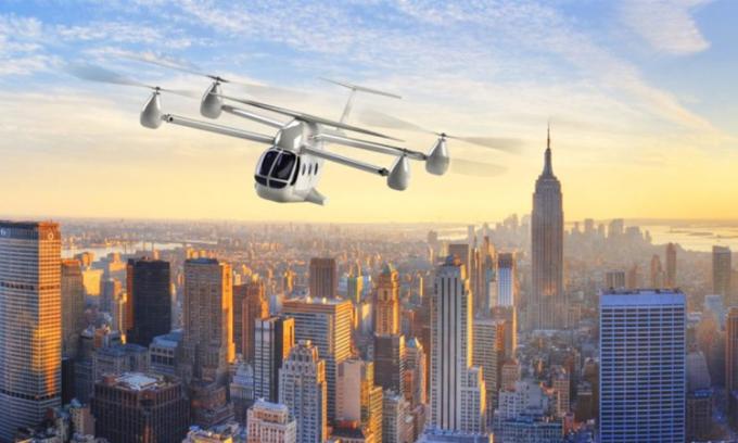 Thiết kế của máy bay điện RX eTransporter. Ảnh: Rotor X.