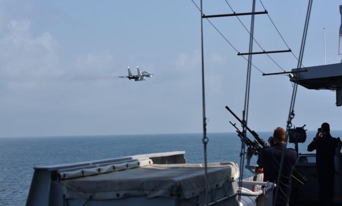 Hà Lan tố Nga mô phỏng tấn công chiến hạm ở Biển Đen