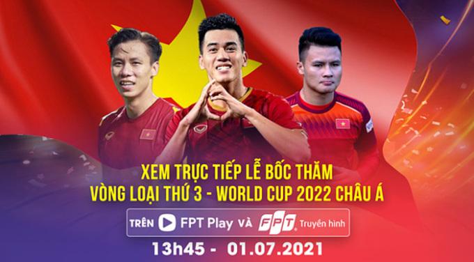Hôm nay bốc thăm vòng loại cuối World Cup 2022 - khu vực châu Á - 1