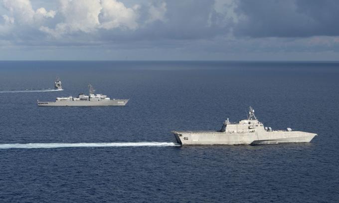 Mỹ – Nhật diễn tập đối phó kịch bản Đài Loan bị tấn công