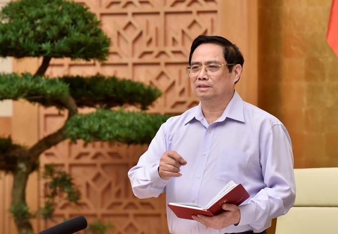 Thủ tướng Phạm Minh Chính. Ảnh: Nhật Bắc