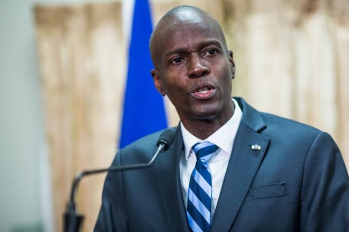 Tổng thống Haiti Jovenel Moise tại Port-au-Prince tháng 2/2017. Ảnh: AFP.