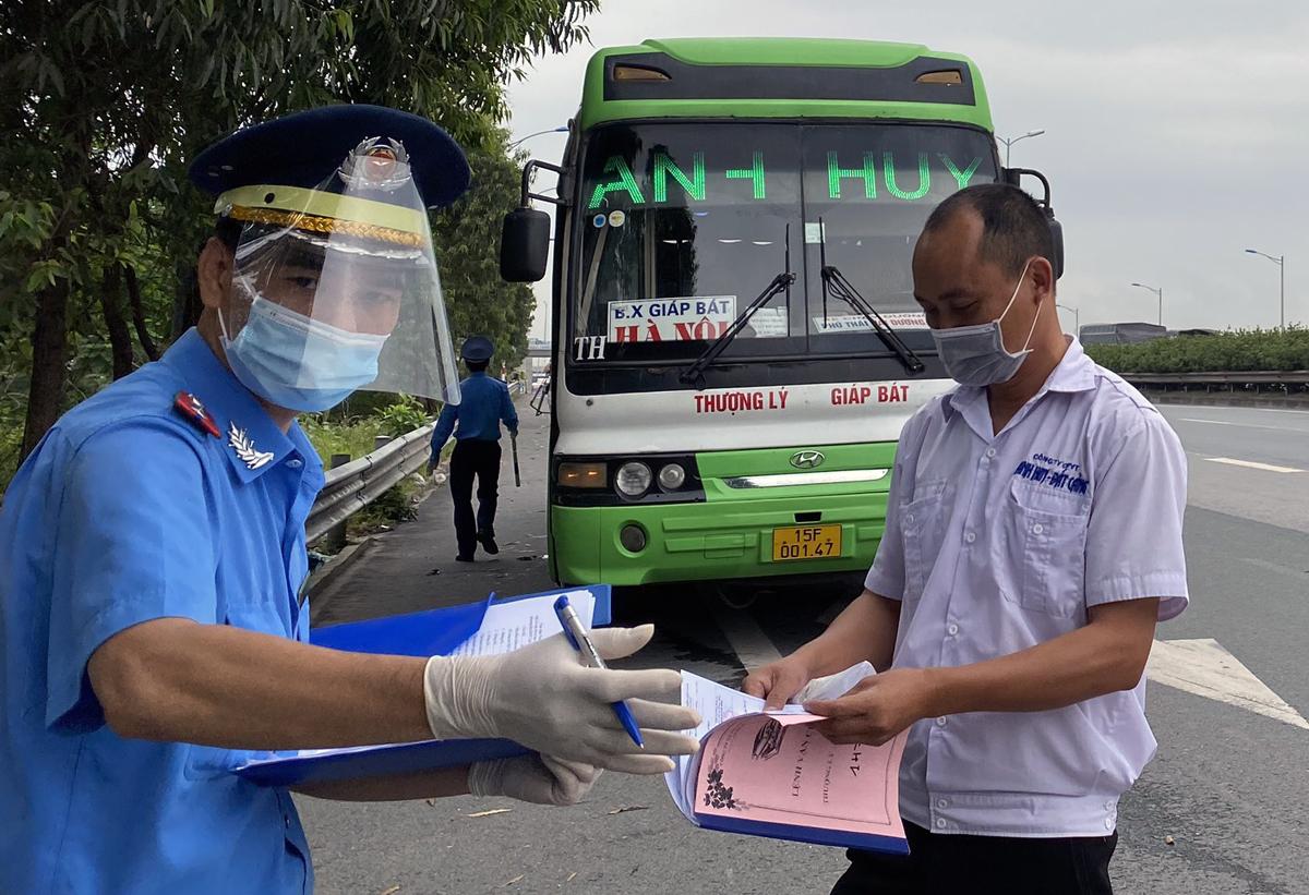 Hà Nội dừng xe khách đi 14 tỉnh, thành