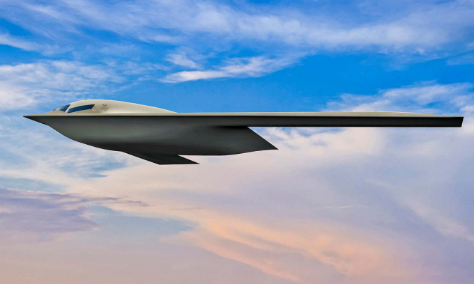 Mỹ hé lộ oanh tạc cơ tàng hình cạnh tranh máy bay Trung Quốc