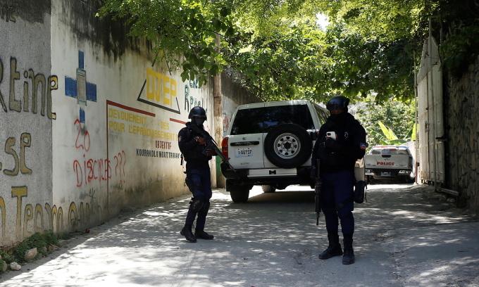 Haiti bắt hai người Mỹ sau vụ ám sát Tổng thống