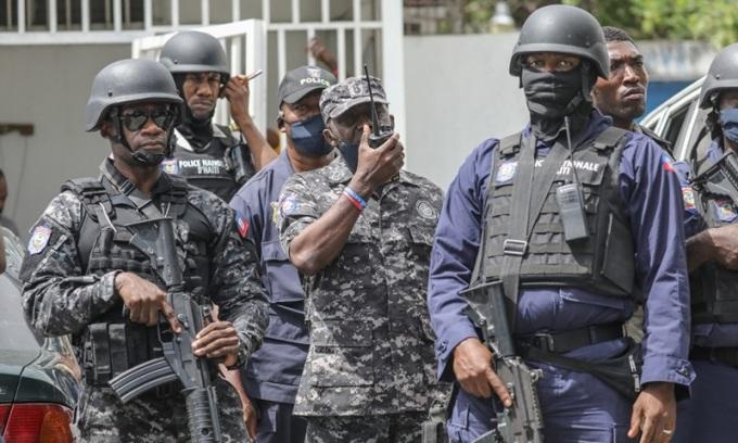 Vệ sĩ Tổng thống Haiti bị thẩm vấn sau vụ ám sát