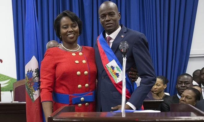 Góa phụ của Tổng thống Haiti lên tiếng