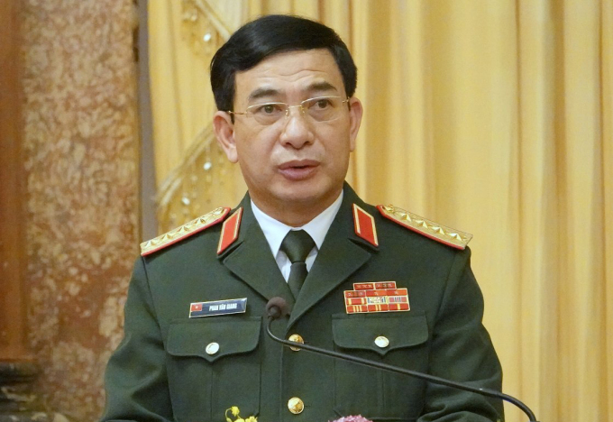 Bộ trưởng Quốc phòng được thăng quân hàm Đại tướng
