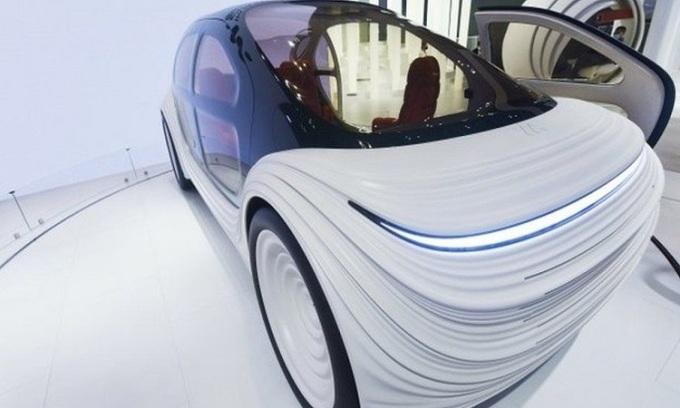 Ôtô điện hút khí thải khi chạy