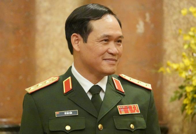 Thượng tướng Vũ Hải Sản, Thứ trưởng Quốc phòng. Ảnh: Hoàng Phong