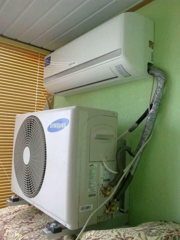 Đỉnh cao của lắp điều hòa, khi thợ lắp không ai hiểu nguyên lý hoạt động của cái máy lạnh này.