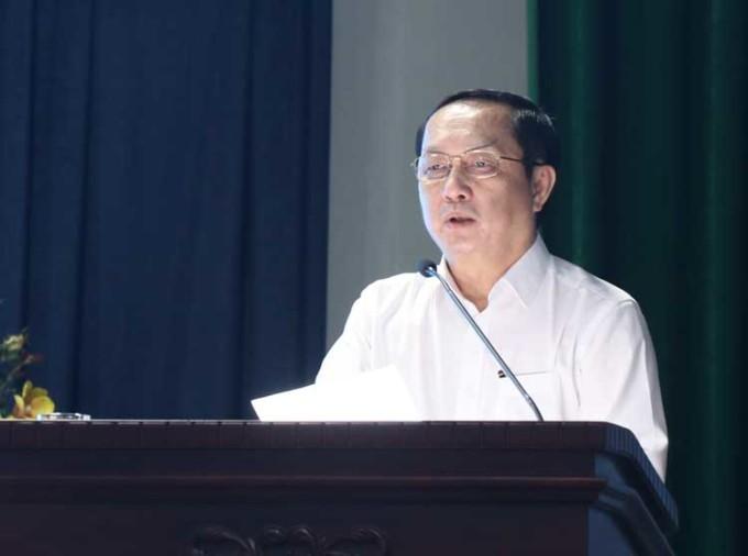 Bộ trưởng Huỳnh Thành Đạt phát biểu tại sự kiện.