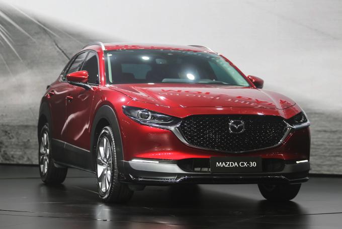 Mazda tăng cường ra mắt các mẫu xe mới, CX-30 tại buổi ra mắt. Ảnh: Đắc Thành
