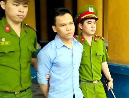 Nguyễn Kim An sau khi bị tuyên án tử hình, tháng 6/2015. Ảnh: Bình Nguyên.