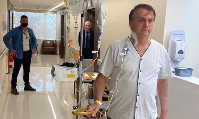 Tổng thống Brazil xuất viện sau 4 ngày điều trị tắc ruột
