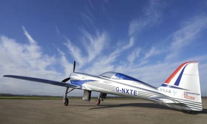 Mô hình máy bay Electric NXT đã được phát triển trong ba năm qua.  Ảnh: Electroflight.com
