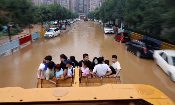 Trịnh Châu dồn sức khắc phục hậu quả trận lũ lịch sử