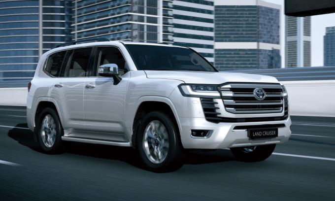 Land Cruiser thế hệ mới. Ảnh: Toyota