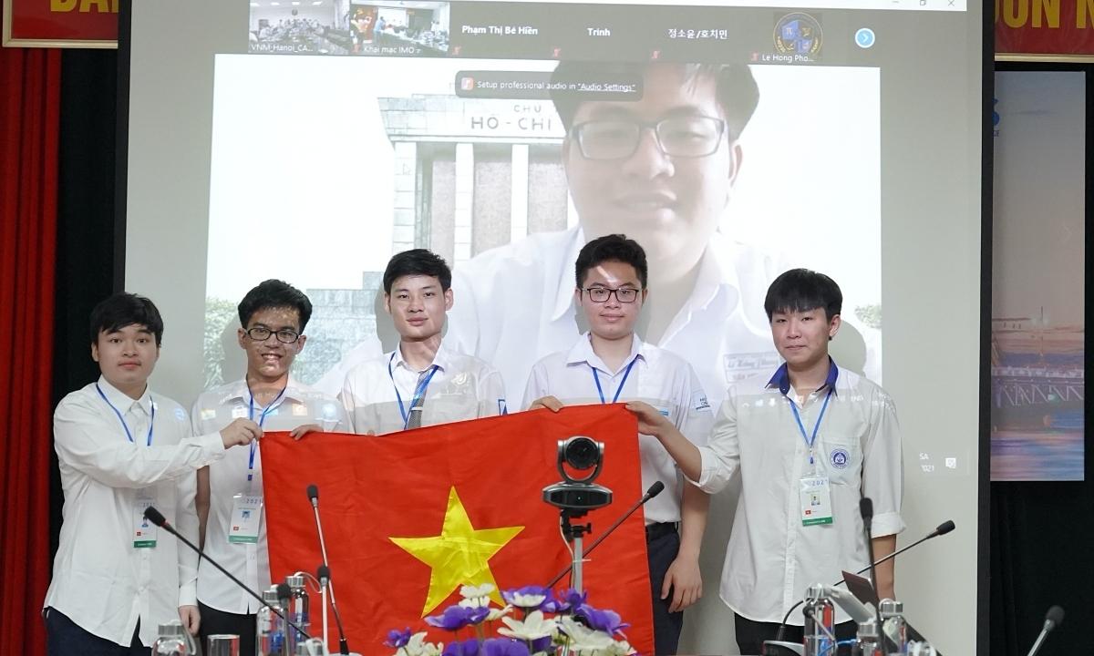 6 học sinh Việt Nam giành huy chương Olympic Toán quốc tế