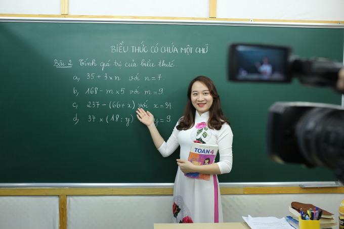 Cô Nguyễn Thị Mai Quỳnh, giáo viên môn Toán tại Hệ thống Giáo dục HOCMAI.