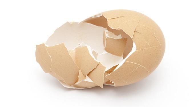 Hydroxyapatite (HA) được tổng hợp từ vỏ trứng.