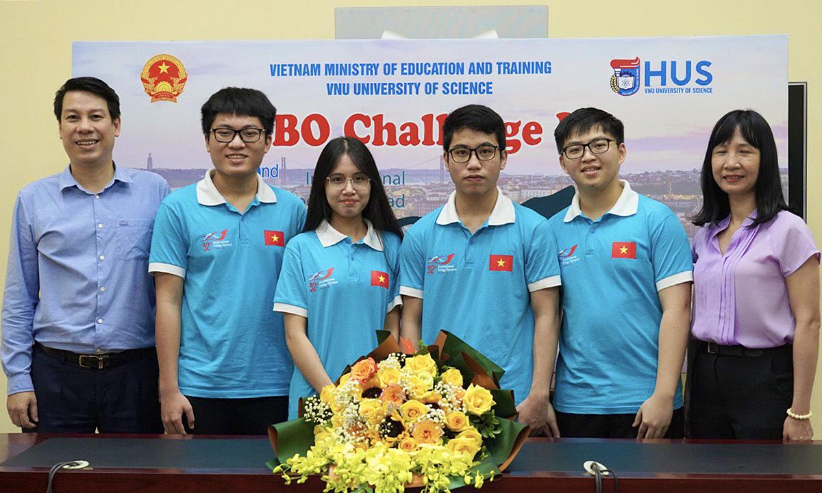 Việt Nam giành huy chương vàng Olympic Sinh học quốc tế