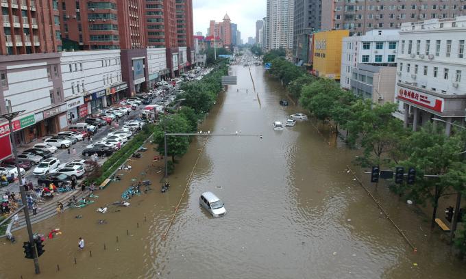 Trận lũ gây hoài nghi về thành phố bọt biển Trung Quốc