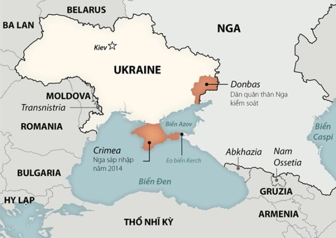 Nga kiện Ukraine chặn nguồn nước của Crimea
