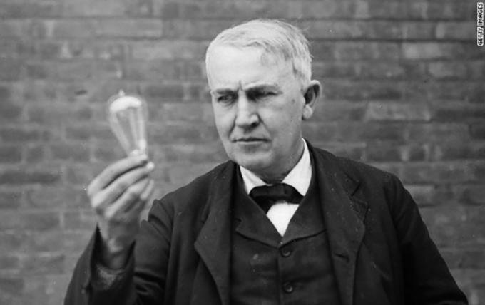 Thomas Edison. Ảnh: Wikipedia.