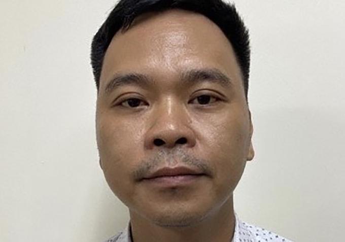 Bị can Võ Việt Hùng, giám đốc Công ty Đông Kinh. Ảnh: Bộ Công an.