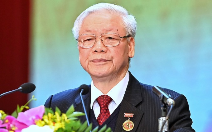 Tổng bí thư Nguyễn Phú Trọng. Ảnh: Hoàng Phong.